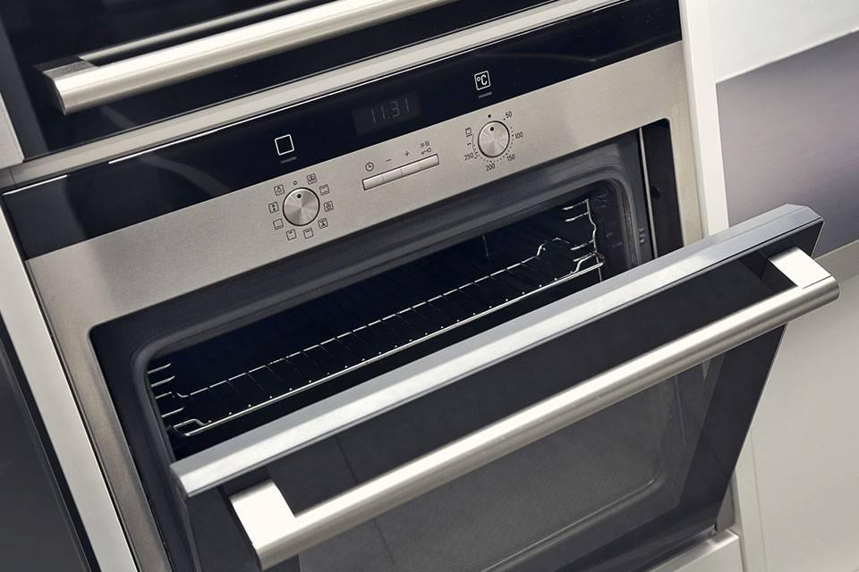 oven door open